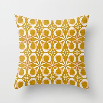 Charleston Throw Pillow by heatherduttonhangtightstudio