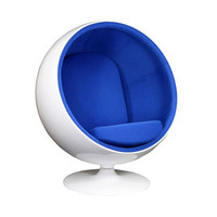 Bright Future Lounge Chair - Blue