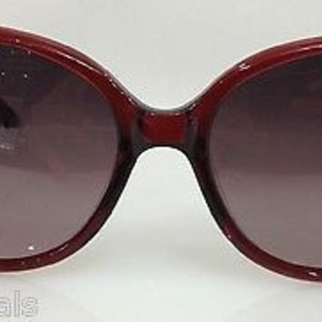 NEW AUTHENTIC POLAROID X8405 COL RED PLASTIC POLARIZED SUNGLASSES FRAME 57MM