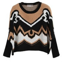 Pope Batwing Sleeves Sweater