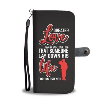 Custom Designed Bible Quote Wallet Phone Case
