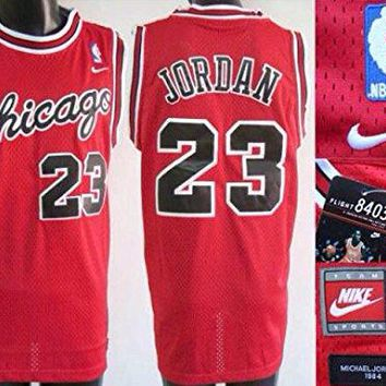 Chicago Bulls Michael Jordan Nike Jersey Red Mens 2xl