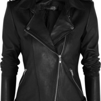 Theyskens' Theory | Nomi leather biker jacket | NET-A-PORTER.COM