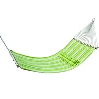 "Large Hammock 74"" x 55"" Fabric with Pillow 