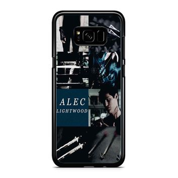 Alec Lightwood Shadowhunters Samsung Galaxy S8 Plus Case