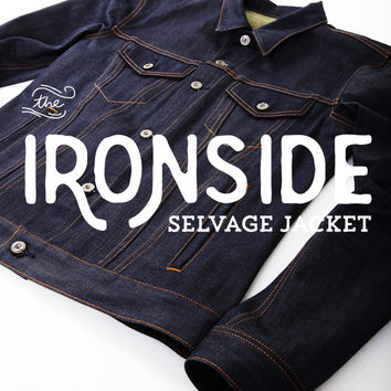 The Ironside Selvage Denim Jacket