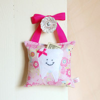 Girls Fairy Princess Tooth Fairy Pillow in by BoutiqueVintage72