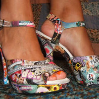 collage shoes - CLOTHING