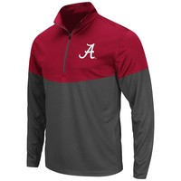 Colosseum Alabama Crimson Tide Hornet II 1/4-Zip Pullover
