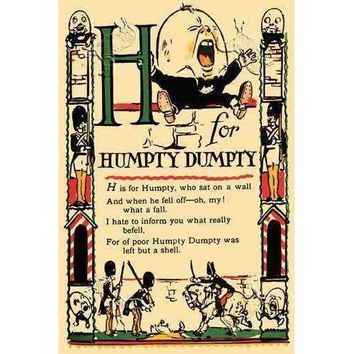 H for Humpty Dumpty