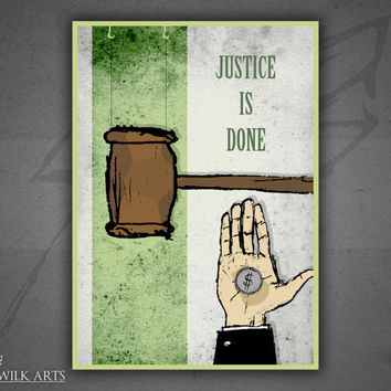 Metallica - ...And Justice For All poster print