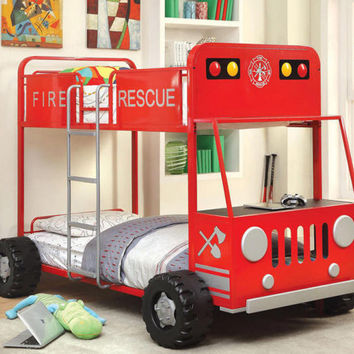 Fire Rescuer Bunk Bed