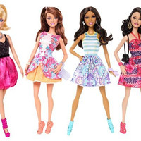 Barbie Fashionistas Doll (4-Pack)