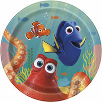 Finding Dory Party Dessert Plate [8 Plates - 7 Inches]