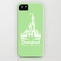 Disneyland - Green iPhone & iPod Case by MargaHG