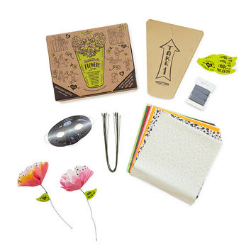 Random Acts of Flowers Kit | Kids Flower Craft Kit