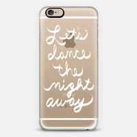 Let's Dance the Night Away - transparent iPhone 6s case by Lisa Argyropoulos | Casetify
