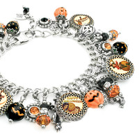 All Hallow's Eve, Halloween Charm Bracelet