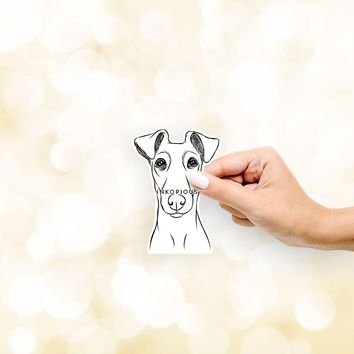Tanner the Fox Terrier - Decal Sticker