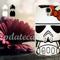 Hello Kitty Stormtrooper - Photo Print for iPhone 4/4s, iPhone 5/5S/5C, Samsung S3 i9300, Samsung S4 i9500 Hard Case