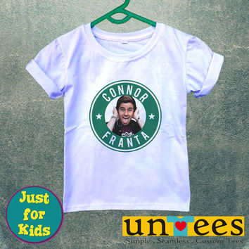 Connor Franta for Kids/Youth/Toddler Short Sleeve T-Shirt