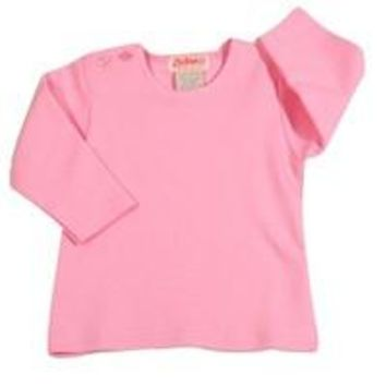 Pink Long Sleeve Tee Shirt