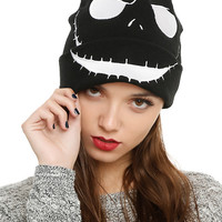 The Nightmare Before Christmas Jack Face Watchman Beanie