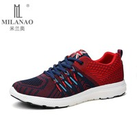 2016 MILANAO Running shoes  professional athletic sport shoes breathable mesh outdoor sneakers zapatillas deportivas hombre