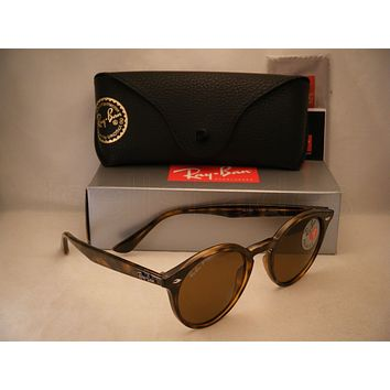 Ray Ban 2180 Tortoise w Brown Polar Lens (RB2180 710/83 49 mm size)