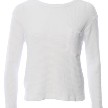 CROPPED THERMAL WITH POCKET