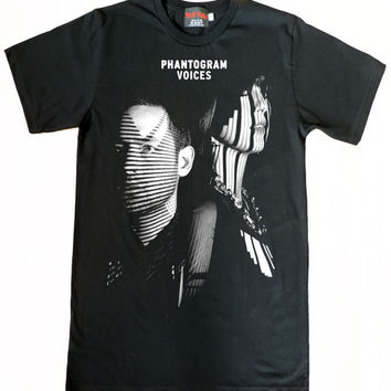 Phantogram electronic rock Black T-Shirt Size S to XL