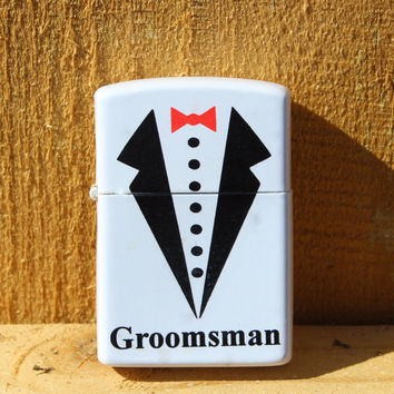 Groomsman gift,  personalized lighter,  gift for him,  wedding party gift,  Fathers Day gift,  custom gift,  zippo style lighter