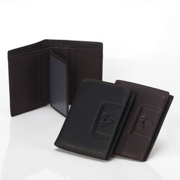 Men Leather Casual Wallet [9026236099]