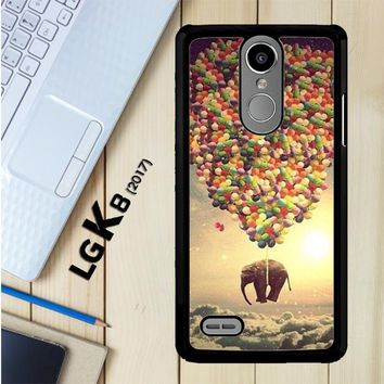 Elephant And Balloon V1482 LG K8 2017 / LG Aristo / LG Risio 2 / LG Fortune / LG Phoenix 3 Case