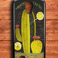 Anatomy Of A Cactus Samsung Galaxy S4 Case