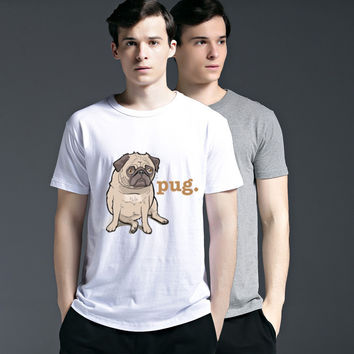 Creative Strong Character Tee Cotton Fashion Pattern Lovely Summer Dogs Cute Short Sleeve Casual T-shirts = 6450276611