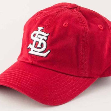 St Louis Cardinals Washed Cotton Twill Baseball Cap By American Needle