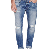 Distressed Relaxed Fit Jeans