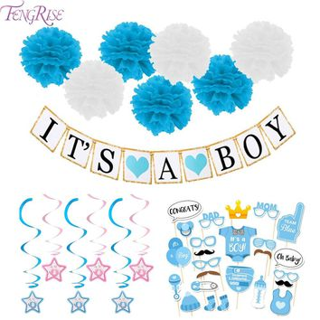 3M Paper Baby Shower Banners/Garlands/Decorations