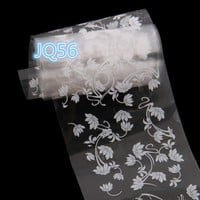 2017 New   Starry Sky Design Nail Art Foil Stickers Transfer Decal Tips Manicure JU28  drop shipping