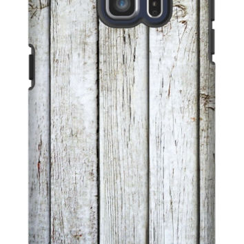 Rustic Wood Galaxy S6 Edge Plus Extra Protective Bumper Case