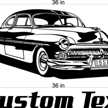 Hard Top Buick Car Wall Decals Stickers Man Cave Boys Room Décor 3 FEET Wide