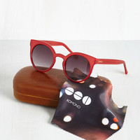 Haute and Bold Sunglasses in Crimson