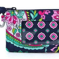 Vera Bradley Zip ID Card Case, Marrakesh, One Size