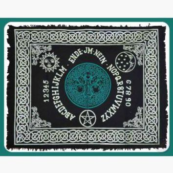 Tree of Life Ouija-Board Altar Cloth