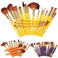 Makeup Brushes Set Foundation Powder Eyeshadow Eyebrow Lip Eyeliner Brush 19Pcs 7_S = 1916946564