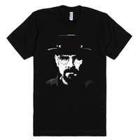BREAKING BAD - Heisenberg-Unisex Black T-Shirt