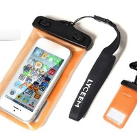 Waterproof Case for Apple iPhone 4/ 4S iPhone 5 Samsung Galaxy Nokia & Others (Orange)