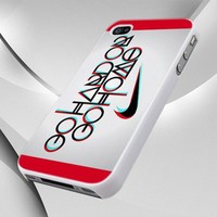 0045 Nike Logo Go Hard Go Home design for iPhone 4 or 4S Case / Cover