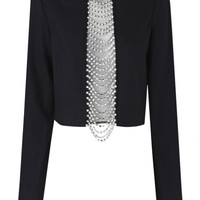 sass & bide |  VOICE OF REASON - black | accoutrement | tops | sass & bide
